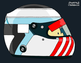 Helmet of Bas Leinders by Muneta & Cerracín