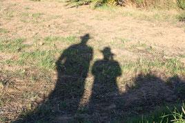 3 Menschenschatten/People shadows