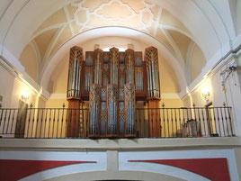 Imagen del nuevo órgano de tubos.