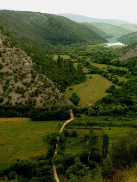 Im Krka-Nationalpark (Kroatien)