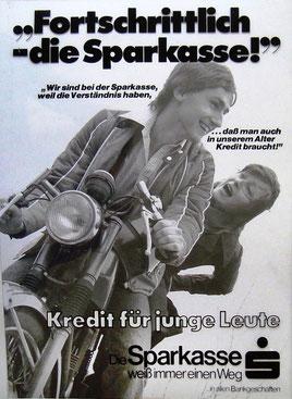 Michael Traimer um 1978 - Plakat-Entwurf von Heinz Traimer für den Sparkassenverlag.