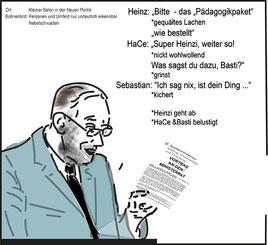 Faßmann übergibt den Ministerratsvortrag vorab an Kurz und Starche Bild:spa