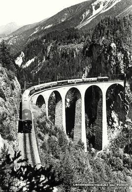 L. Sommerau Filisur, gestempelt 07.09.1964