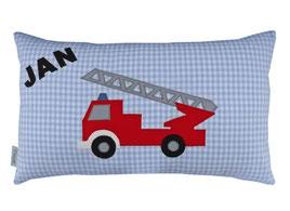 Kissen 50 x 30 Feuerwehr Namenskissen