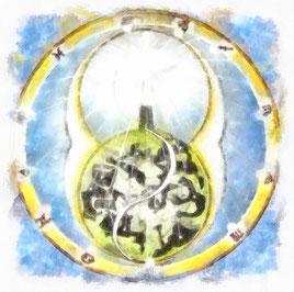 Tempel der Stern - Abbild der Sternzeichen