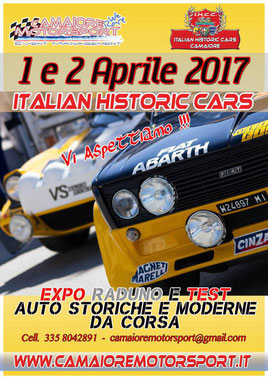 Italian historic cars camaiore