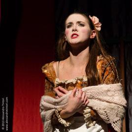 © 2014 Alessandro Tintori. L'attrice Denise Brambillasca in una fotografia di scena di Alessandro Tintori.
