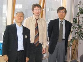 2006年1月フンボルト大学(ベルリン)にて