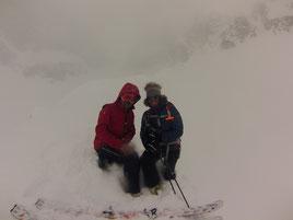 Luca e Matteo nella nebbia