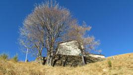 Il rifugio del Pian Cavallone m. 1564