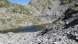 Il lago Gelato m. 2418