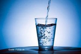 Wasser trinken ist unabdingbar!