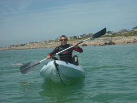 Kayak de mer en Normandie