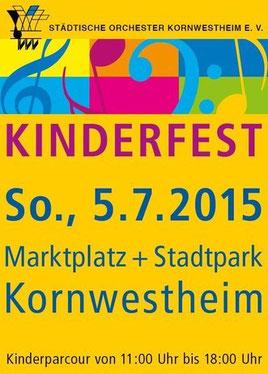 Kornwestheimer Kinderfest 2015