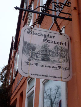 Bild: Bleckeder Brauerei in der Nähe der St. Johanniskirche