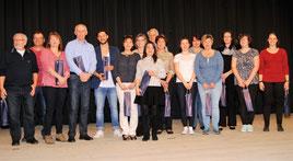 Für die Übungsleiter gab es als Dankeschön für das ganzjährige Engagement kleine Präsente.
