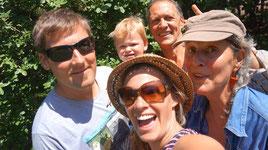 Gruppenfoto mit Joerg und Wanda