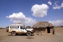 Besuch bei den Massai