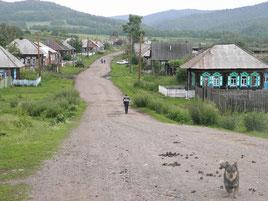 с. Екатериновка 2011 г. Улица Амур (Комсомольская)