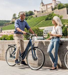 e-Bike Rahmenform Komfort