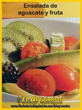 Ensalada de aguacate y fruta