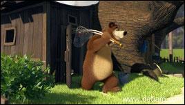 Медведь решил пойти на рыбалку