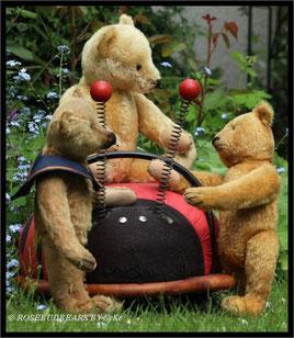 Steiffbären im Garten