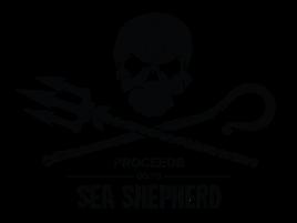 Sea Shepherd Logo, Wal, Retter der Meere