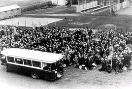Photo de rafles durant la période de colaboration avec le régime nazi