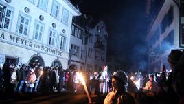 Schweiz Impressionen: Klausjagen in Küssnacht am Rigi, Nikolaus von Flüe (Bruder Klaus) und das Flüeli Ranft, Dampfbootfahrt auf der Aare bei Solothurn