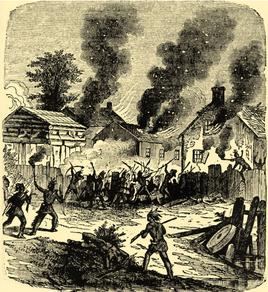 Le siège amérindien de Brookfield en août 1675