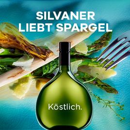 Spargel und Silvaner: Das passt zu jedem Gericht. Die Aktion Spargel liebt Silvaner erinnert an die alten Liebensgeschichte der beiden genusskomponenten