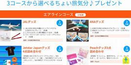 千葉県懸賞-成田空港-就航先の特選品などプレゼント