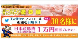 群馬県懸賞-日本産豚肉プレゼント