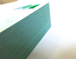 Luxus Visitenkarten farbig, Multiloft Visitenkarten