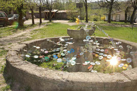 Vilniaus Užupio raj. senasis fontanas / The old fountain of Užupis (photo Gintaras Burba)