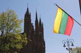 Lietuvos vėliava / Lithuanian flag (photo Gintaras Burba)