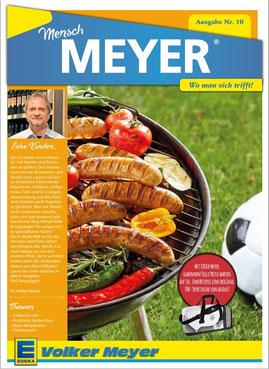 """EDEKA-Kundenmagazin """"Mensch Meyer"""". Redaktionsleitung: Gesa Walkhoff"""