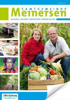 Samtgemeinde Meinersen Magazin. Redaktionelle Betreuung: Gesa Walkhoff