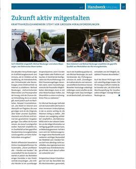 """PR-Artikel aus """"Handwerk Spezial"""" von Gesa Walkhoff"""