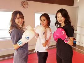 女性が多いボクシングジム