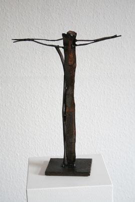 Kreuzplastik Friedenskirche - Ich bin das Werk -