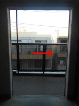 阿部鍼灸院3階降りて右