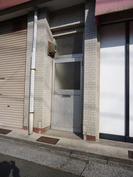 改修前の玄関