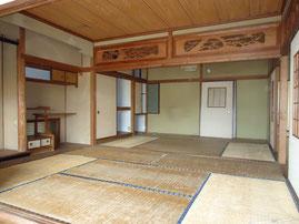 当社の改修前の和室、入居者は数年決まらず・・・