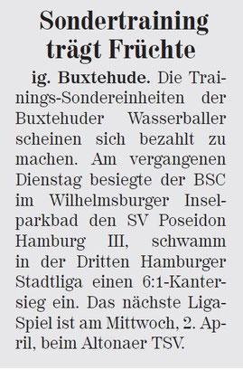 Neue Buxtehuder Wochenblatt vom 22.03.2014