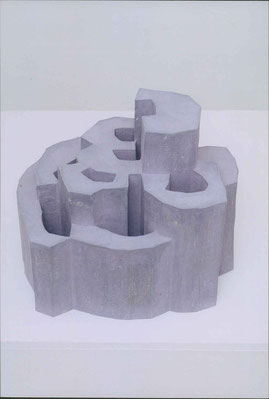 Burg 4  Paperclay 2000