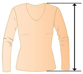 V-Pullover für füllige junge Frauen , günstige Pullover für runde Frauen