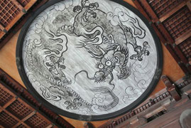 蓮華寺竜の天井画