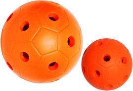 Balle et ballon à grelots pour jeux avec handicap. Matériel de sport à acheter pas cher.